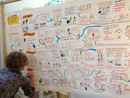 Exchanging ideas on how to improve cultural policy /©Courtesy of York