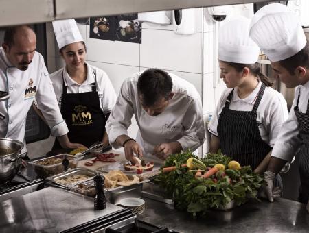 Des jeunes chefs cuisinent à Gaziantep / ©Gaziantep Metropolitan Municipality