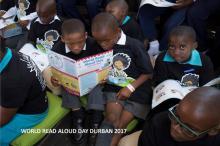 The city of Durban encourages children to read/ ©UNESCO