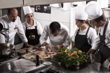 Young chefs cooking in Gaziantep / ©Gaziantep Metropolitan Municipality