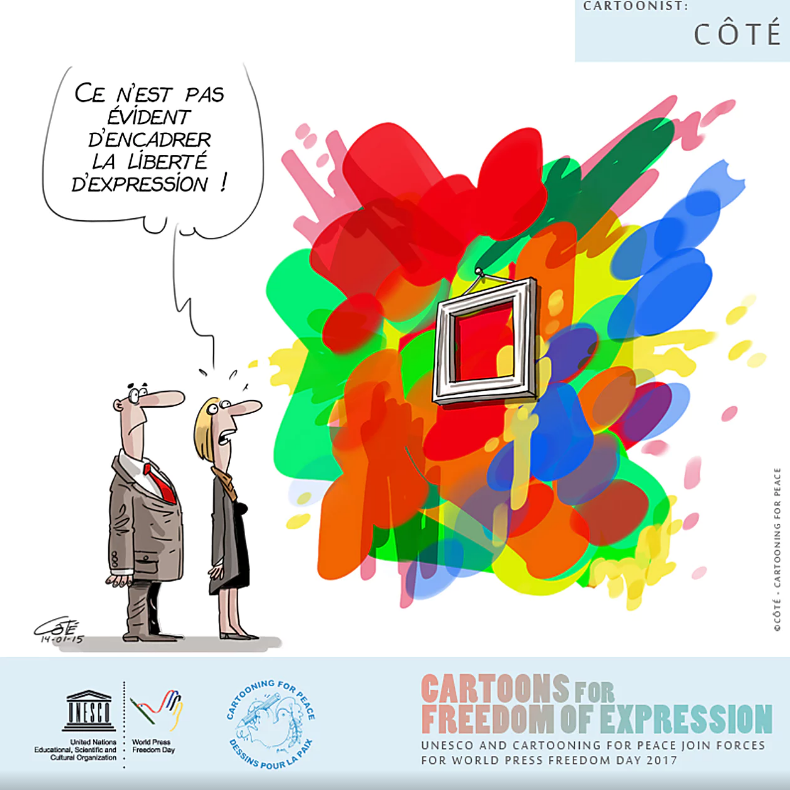 """It's not easy to frame freedom of expression"""