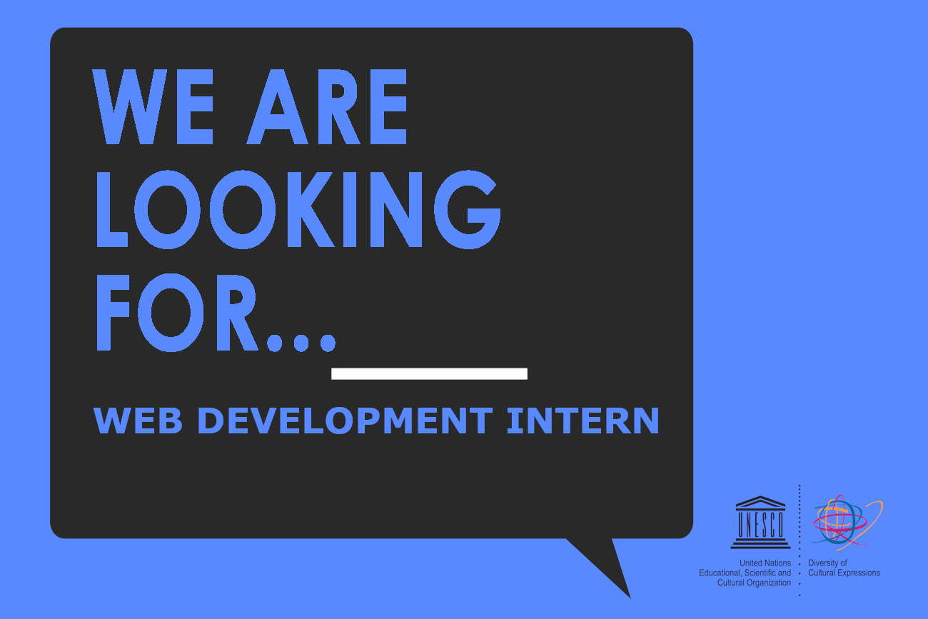 Internship opportunity: Web Development | Diversity of Cultural