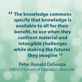 Peter Ronald DeSouza - Quote Card - Ideas LAB