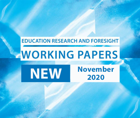 ERF NOV 2020 - New Working Paper