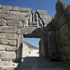 The archaeological sites of Mycenae and Tiryns are the imposing ruins of the tw