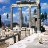 Ruins of the Phoenician city, Roman columns, Roman Imperial architecture