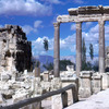 Ruins of the Phoenician city, Roman architecture