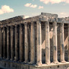 Remains of the Pheonician city, Roman temple, Roman architecture