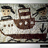 Exhibition of mosaic made by Bulgarian children