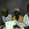 Literacy course for women, adult education