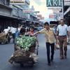 Street scene, town, street, shops