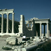 The Erechtheum on the Acropolis, restoration works, classical Greek art