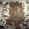 Work of art, 'Diana huntress,'Mosaic of El Jem, Thysdrus antique, Grand Roman c