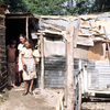 Shabby districts, slums, women