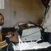 Man working at the press agency Anta.