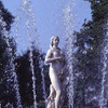 Fountains in the park of Petrodvoretz Palace, statue, sculpture