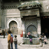 One of the entrances to the Medina, fountain