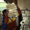 Printing room, man, workman