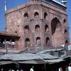 The Big Mosque, Jama-Masjid, street stalls