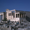 Acropolis, Athens, the Erechtheum, the Cariatides. Temple, classical Greek art