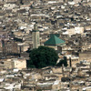 Aerial view of Fez and the Parouiyine mosque