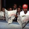 Newspapers readers, rural press