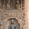 Reliefs and sculptures in buddhist caves