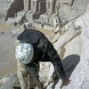 Abu Simbel temple, restoration works, Ramses II, Pharaoh period