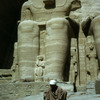 Abu Simbel temple, statue of Ramses II