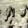 Temple, Abu Simbel, giant statues