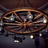 Sinasos Hotel, interior decor, candelabre