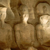 Abu Simbel temple, statues inside the temple