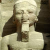 Abu Simbel, small temple, giant statue