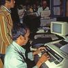 Press room, rural press, computer