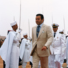 Arrival of Prince Moulay Rachid at the Moussem of Tan Tan, a festival of nomad