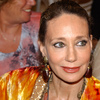 American actress Marisa Berenson at the Moussem of Tan Tan, a festival of nomad