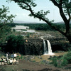 Outdoor literacy class for adults in the region of Nile falls, adult education
