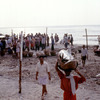 Fishermen of Kerala with daily catch.