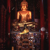 Statue of Buddha in temple.