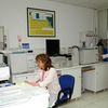 Microbiological Laboratory. Biological safety cabinet.