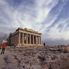 The Acropolis of Athens. The Parthenon.