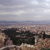 View over the city of Athens from the Acropolis. (The Hephaisteion in centre)
