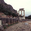 The Tholos and the Temple of Athena.