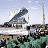 The return, on April 2005, of the Aksum obelisk following the agreement signed