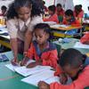 Schoolchildren in class