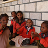 Young schoolchildren playing