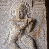 Carving in a temple at Hampi