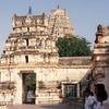 Virupaksha Temple complex at Hampi built in honour of the goddess Lakshmi