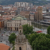View of the Opera House, Bilbao.