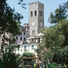 The village of Monterosso (Cinque Terre - World Heritage List). Mediaeval Tower